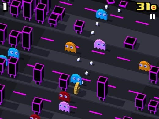 pac man crossy road - Come scoprire e sbloccare PacMan e i Fantasmi Blinky, Clyde, Inky, Pinky in CrossyRoad