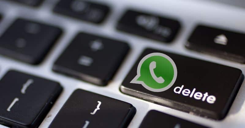 Come cancellare le chat su WhatsApp