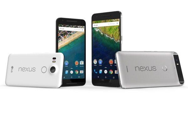 google nexus 6p nexus 5x - Presentati da Google i nuovi smartphone Nexus 6P e Nexus 5X