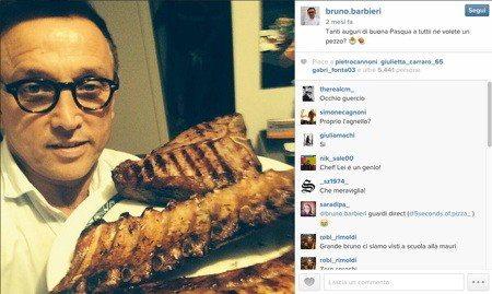 barbieri - Da Bruno Barbieri a Gordon Ramsey: anche gli chef sono su Instagram