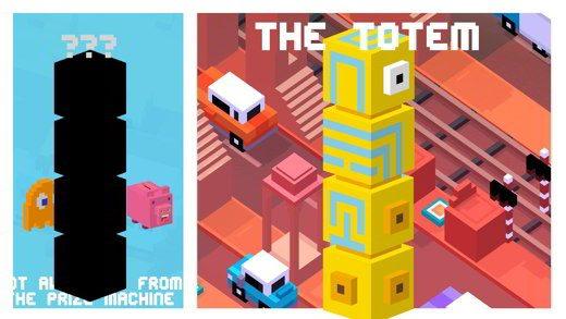totem crossy road - Crossy Road: come sbloccare il Totem e i nuovi personaggi di Monument Valley