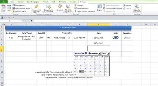 Come aggiungere un Calendario in Excel - Come aggiungere un calendario in Excel