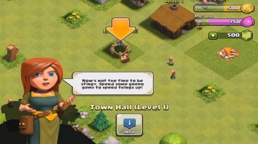 tutoria in game clash of clans - Come iniziare a giocare a Clash of Clans