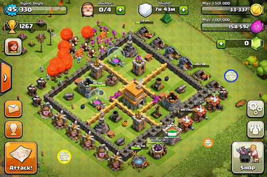 Come creare un campo base clash of clans - Clash of Clans: come costruire un campo base