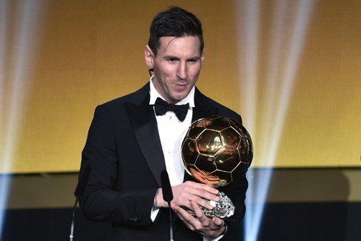 messi vince il pallone doro 2015 - Lionel Messi vince il Pallone d'Oro 2015