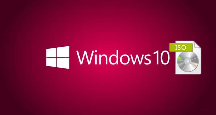 come installare l'ISO ufficiale di Windows 10