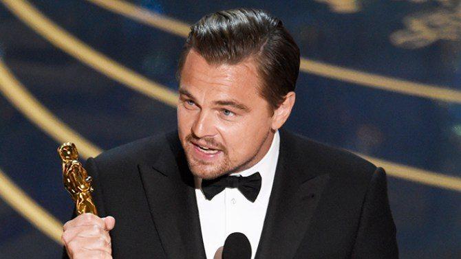 leonardo dicaprio oscars 2016 - Notte degli Oscar 2016: trionfa finalmente Leonardo DiCaprio