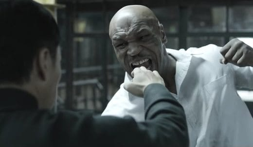 Ip Man 3 Donnie Yen Mike Tyson - Video combattimento Mike Tyson vs Donnie Yen nel teaser di Yp Man 3