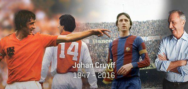 """cruijiff %c3%a8 morto - Addio a Johan Cruijff """"Il profeta del gol"""""""
