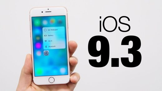 iOS 9.3 - Come installare iOS 9.3 su iPhone