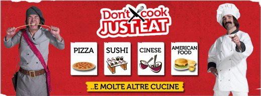 justeat - Come ordinare pranzo e cena a domicilio con Just Eat
