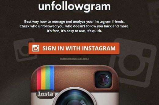 unfollowgram - Come scoprire chi smette di seguirti su Instagram