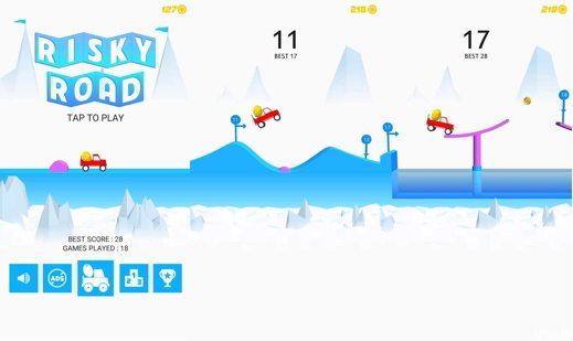 Trucchi Risky Road - I migliori trucchi per giocare a Risky Road