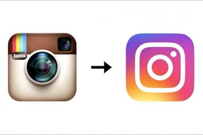 instagram nuovo e vecchio logo - Come creare il nuovo logo di Instagram con Photoshop