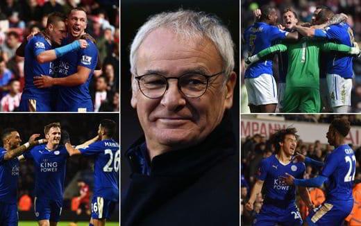 ranieri leicester vincono la premier league - Il Leicester di Claudio Ranieri è Campione d'Inghilterra 2016