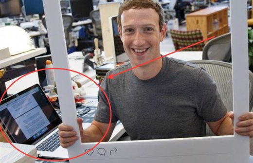Zuckerberg copre webcam - Come non farsi spiare dalla WebCam