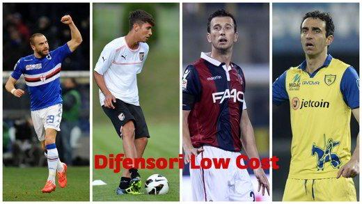 difensori low cost - Consigli Fantacalcio Serie A 2016-2017: i difensori low cost