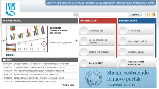INPS online - Come richiedere il PIN INPS