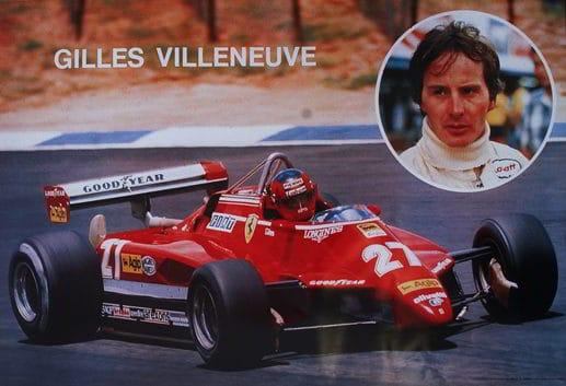 gilles villeneuve turbo - Gilles Villeneuve la leggenda della Formula 1