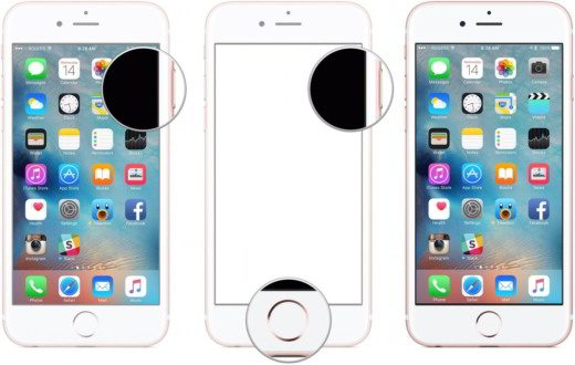 screenshot iphone 7 - Come effettuare e salvare le schermate (screenshot) con iPhone 7 e iPhone 7 Plus