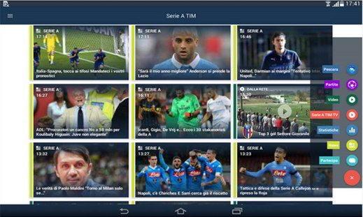 Serie A tim - Le migliori app di calcio