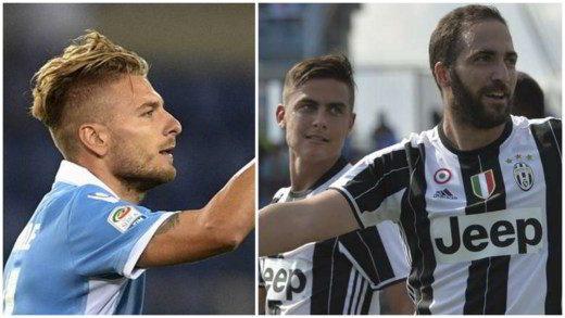 immobile higuain - Voti e Assist Fantacalcio 7a giornata Serie A 2016-17