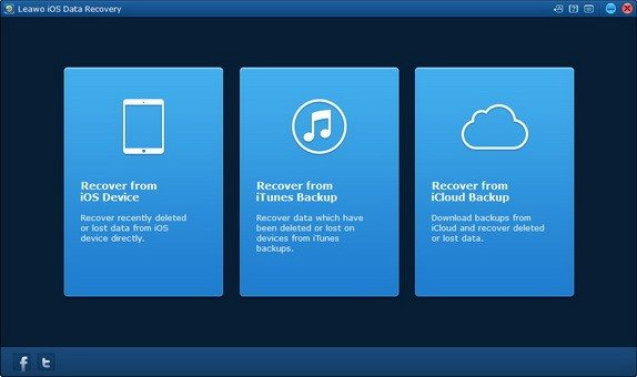 leawo iOS data recovery - Leawo iOS Data Recovery: lo strumento di Backup più efficiente di iTunes