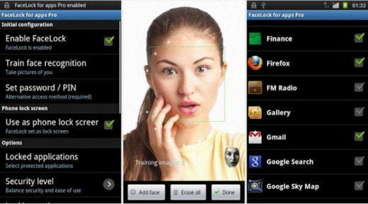 Facelock - Come proteggere le app con il riconoscimento facciale