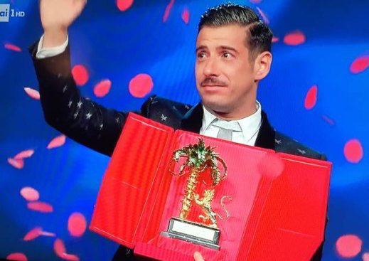 Gabbani vince Sanremo 2017 - Festival di Sanremo 2017: vince Gabbani, seconda Fiorella Mannoia