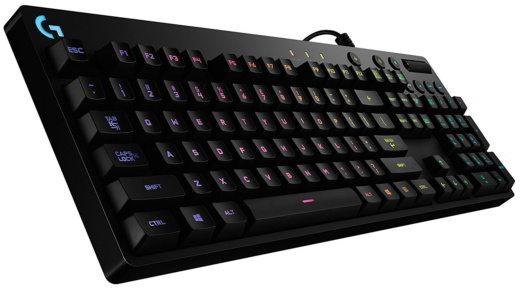 1 LOGITECH G810 ORION SPECTRUM - Miglior tastiera per giocare al PC: quale comprare