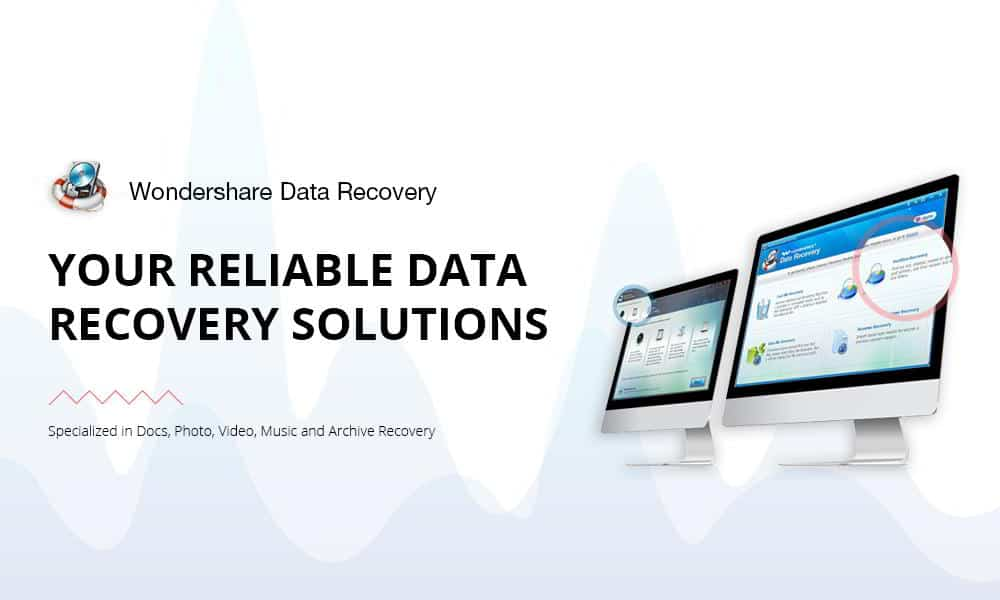 Data Recovery - Come recuperare file persi con Wondershare Data Recovery