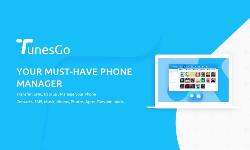 TunesGo - TunesGo: il miglior File Manager per Android