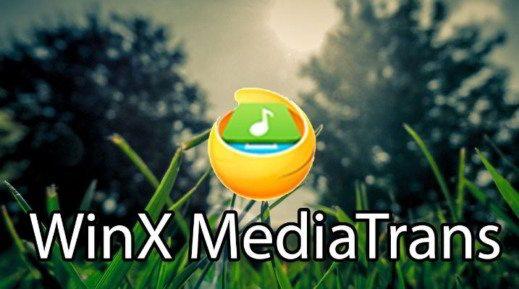 winx mediatrans - WinX MediaTrans Giveaway: il primo iPhone Manager che rimuove la protezione DRM