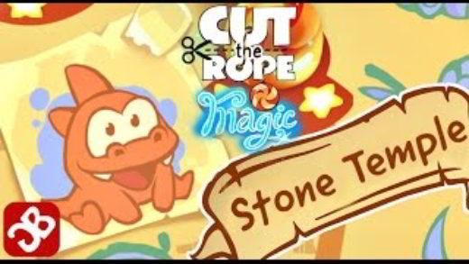 stone template - Le soluzioni dei livelli di Cute The Rope Magic Tempio di Pietra