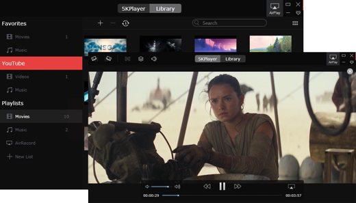5kplayer 1 - 5KPlayer il lettore multimediale per scaricare video Youtube e riprodurre video 4K ultra HD