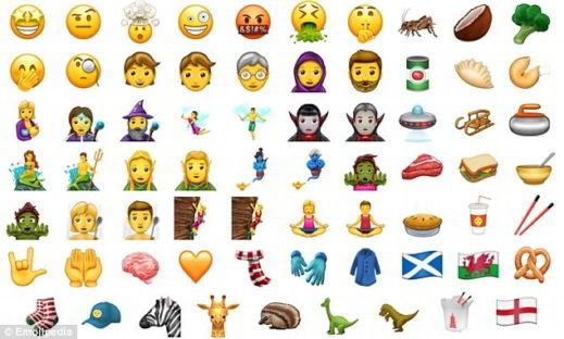69 nuove emoji twitter 2017 - Significato delle nuove 69 Emoji di Twitter