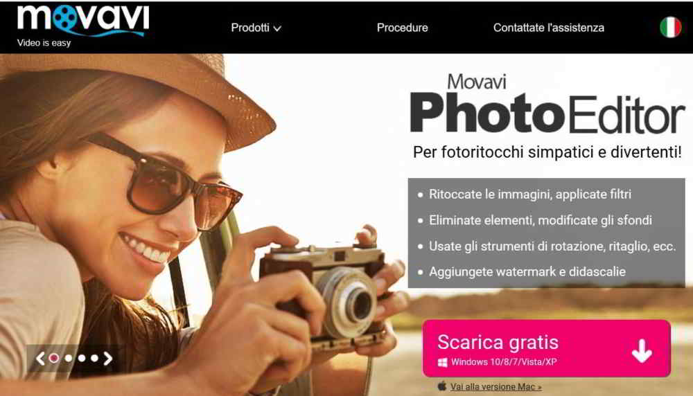 Movavi photo editor - Come ritoccare le foto con Movavi Photo Editor