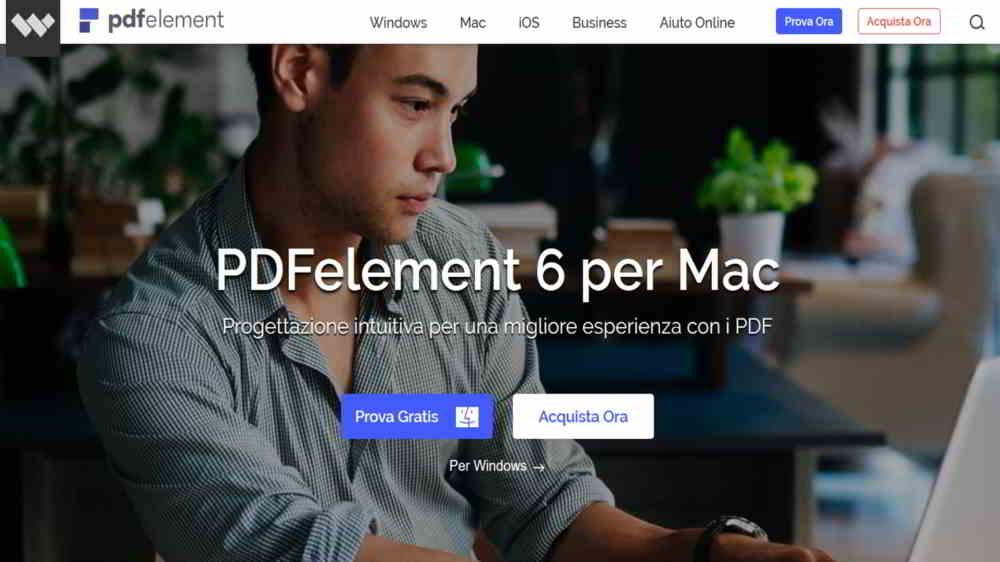PDFelement 6 per MAC - PDFelement 6 il miglior programma per creare, modificare e convertire PDF Mac