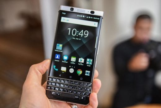 blackberry key one 9 - BlackBerry KeyOne: lo smartphone Android con i tasti fisici