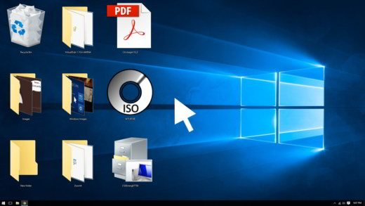 come modificare dimensioni icone desktop Windows 10