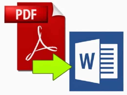 come convertire pdf in word - Come convertire PDF scannerizzati in Word