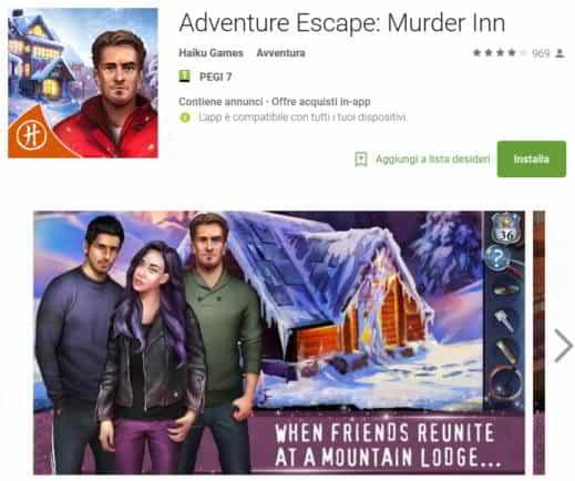 soluzione capitoli adventure escape murder inn - Soluzioni di tutti i capitoli di Adventure Escape Murder Inn