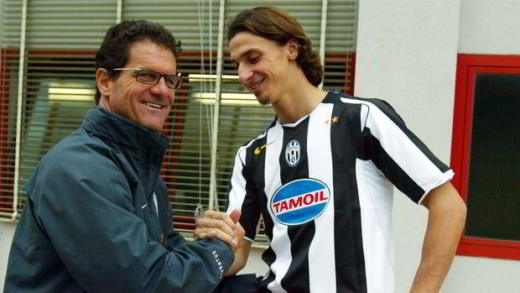 Capello e Ibrahimovic