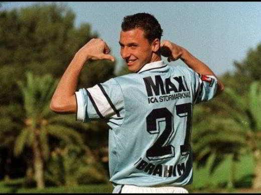 Ibrahimovic con il Malmo