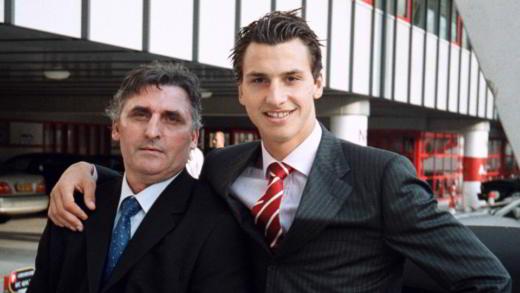 Ibrahimovic con suo padre