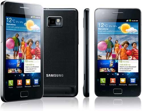 samsunggalaxys2grande - I prodotti più venduti di questo Natale 2011: gli Smartphone