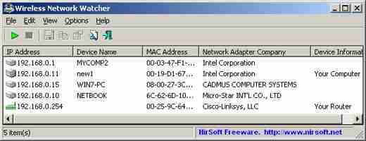 informazioni wifi