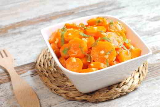 carote aceto balsamico - Carote gustose all'aceto bianco