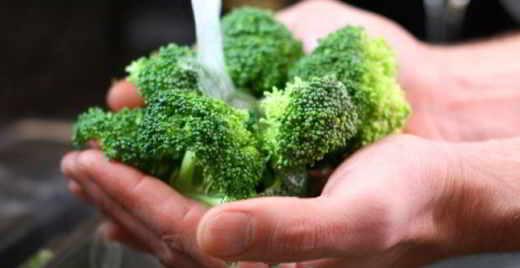 broccoli siciliani e zenzero - Vellutata dietetica di broccoli siciliani e zenzero