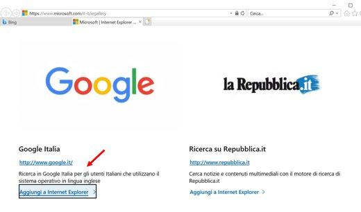 imposta google